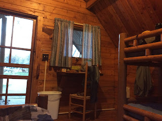Cabin in Louisville KOA.