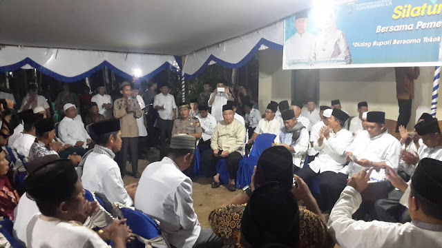 Warga Kecamatan Pangkalan Lampam Siap Menangkan H Iskandar