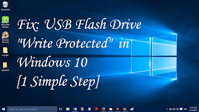 Solve Write Protected Pendrive