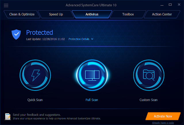 Advanced SystemCare Ultimate 10 Crack