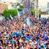 """Comentário - Cabeludo coloca oposição no """"chinelo"""" em uma das maiores passeatas de Agrestina"""