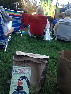 Panera Picnic Dinner before Love's Labor's Lost begins at Shakespeare in the Common