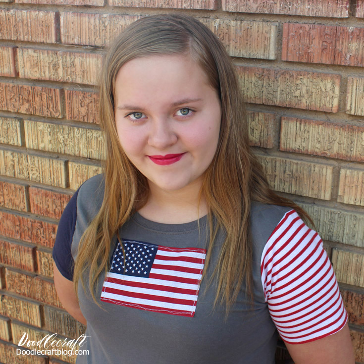http://www.doodlecraftblog.com/2016/06/stars-and-stripes-shirt-with-faux.html
