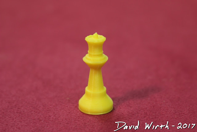 how to 3d print a chess piece
