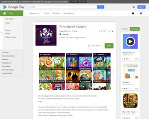 العاب فريستريت للاندرويد : Freestreet Games Android