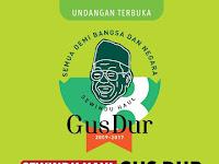 Seminggu Haul Gus Dur Digelar 22 Desember 2017