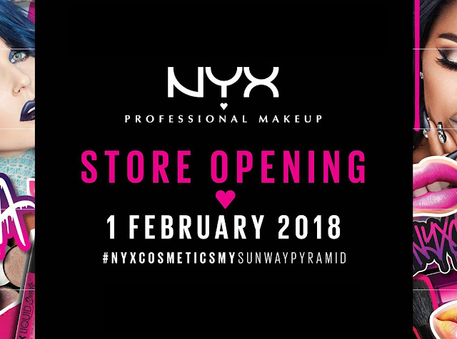 NYX Malaysia Store Opening Special