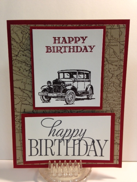A Guy Greetings And Happy Birthday Everyone Card