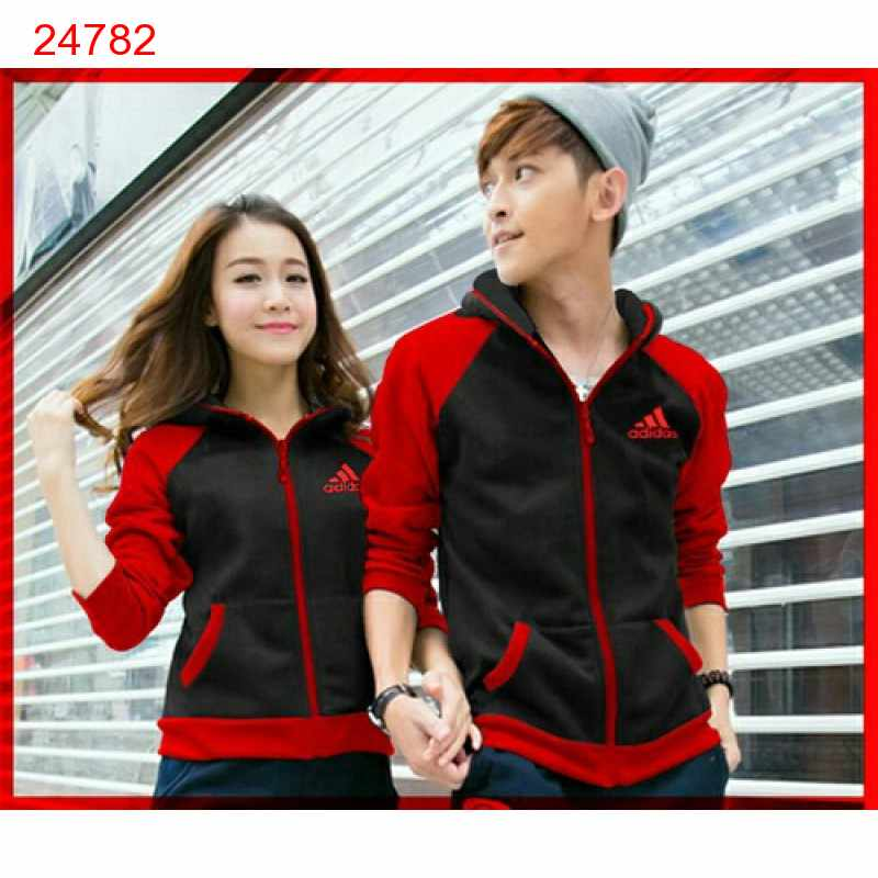 Jual Jacket Couple Jaket Adidas Campus Black - 24782