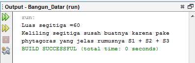 Menghitung Segitiga Dengan Java