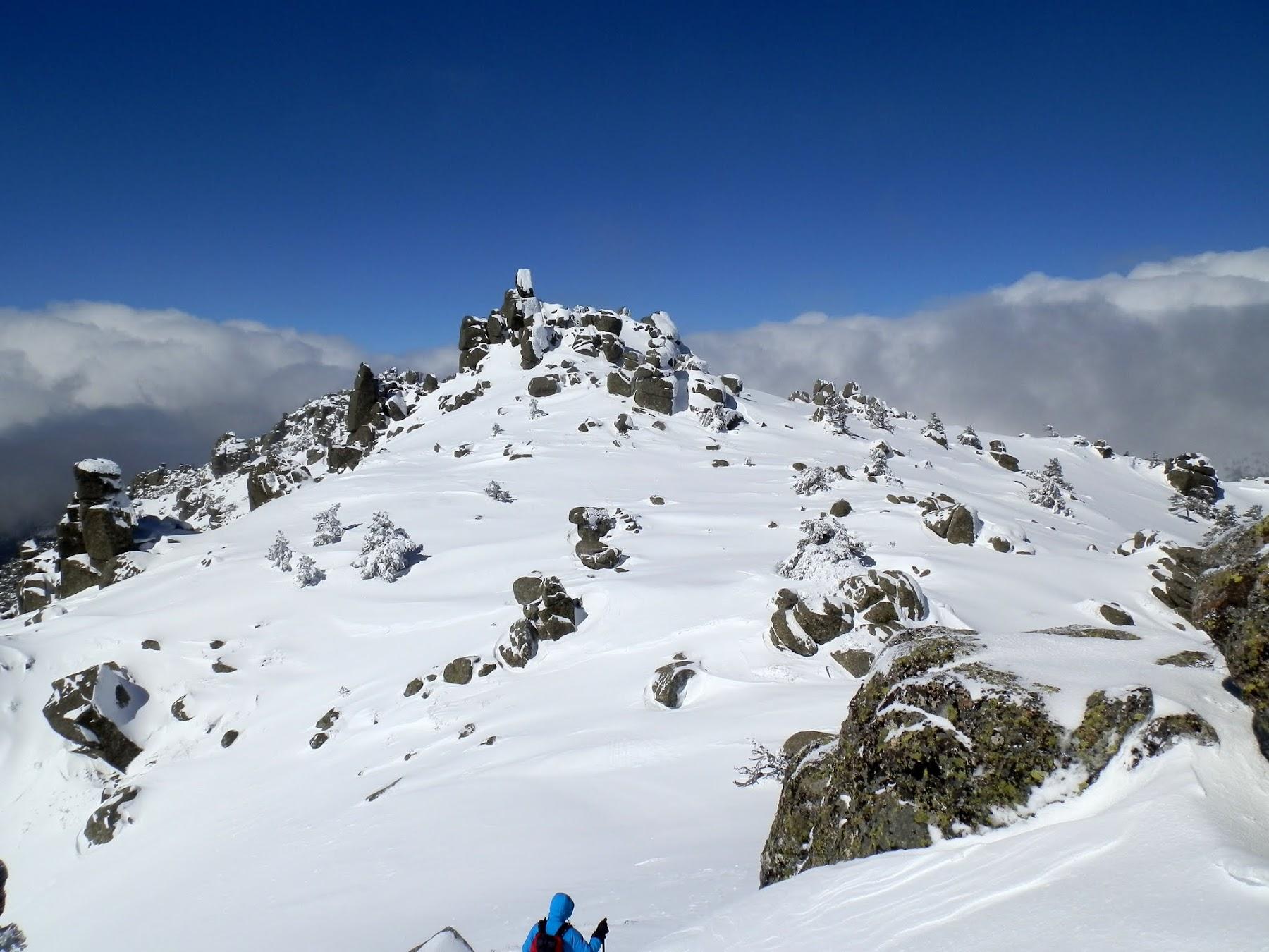 Siete Picos, iniciación montaña invernal