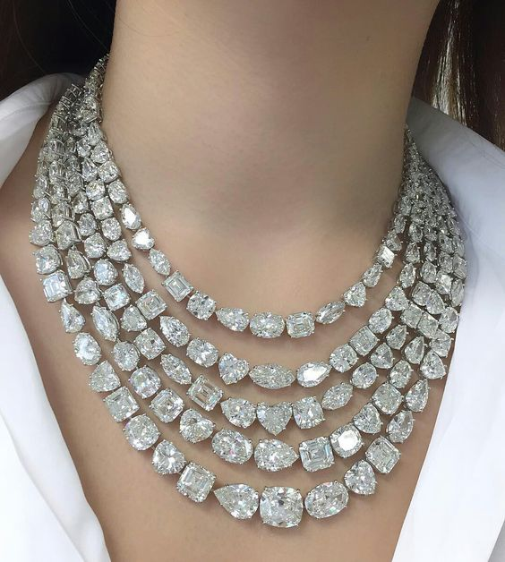 how to choose a diamond necklace