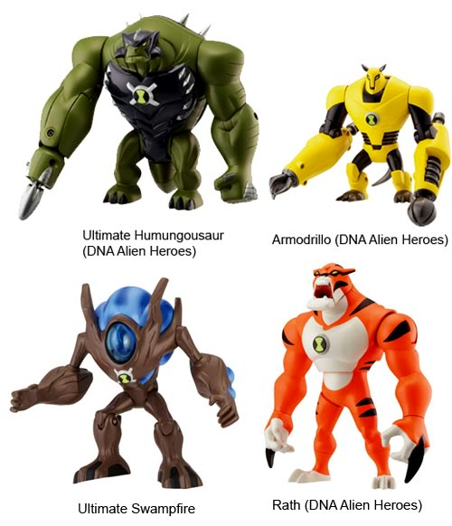 coming ben10 ultimate alien toys