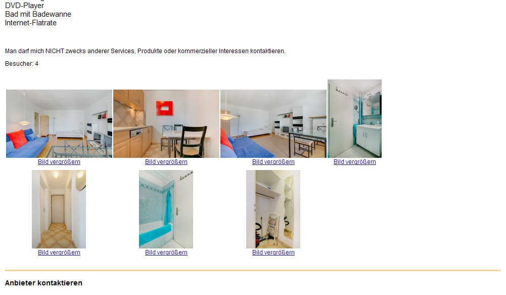 Wohnung moderne 1 zimmer for Raumgestaltung 1 zimmer wohnung