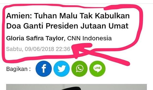 Hanum Rais Kutuk CNN Indonesia dan Reporter Gloria Safira Taylor, Ada Apa?