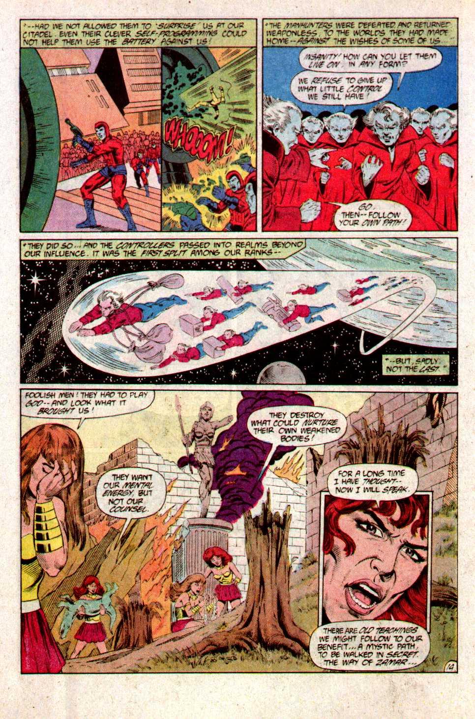 Read online Secret Origins (1986) comic -  Issue #23 - 16