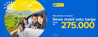 Promo Sewa MObil Tiket.com