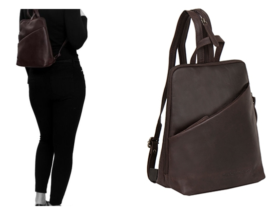 Women's Leather Backpack from the Chesterfields Brand