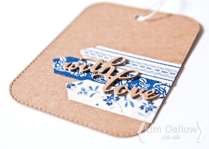 Clean and simple quick and easy tag by Kim Dellow