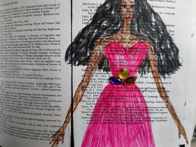 crtanje na stranicama knjiga