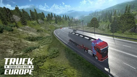 Truck Simulator PRO Europe Apk+Data Free on Android Game Download