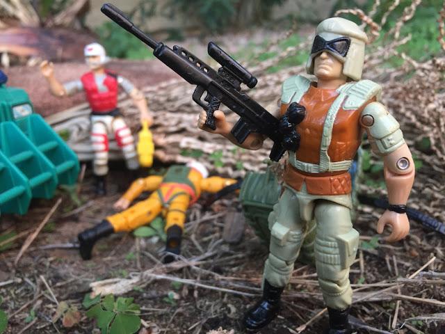 1994 Flint, Battle Corps, Stalker, Razor Blade, General Flagg, 1993, Lifeline