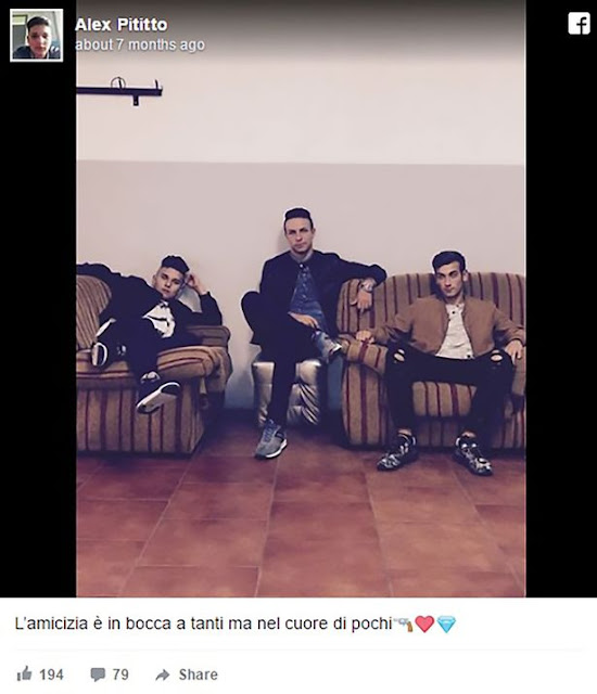 Hijo de un mafioso italiano mata a su mejor amigo; ¿la razón? Le dio 'like' a la foto de su novia