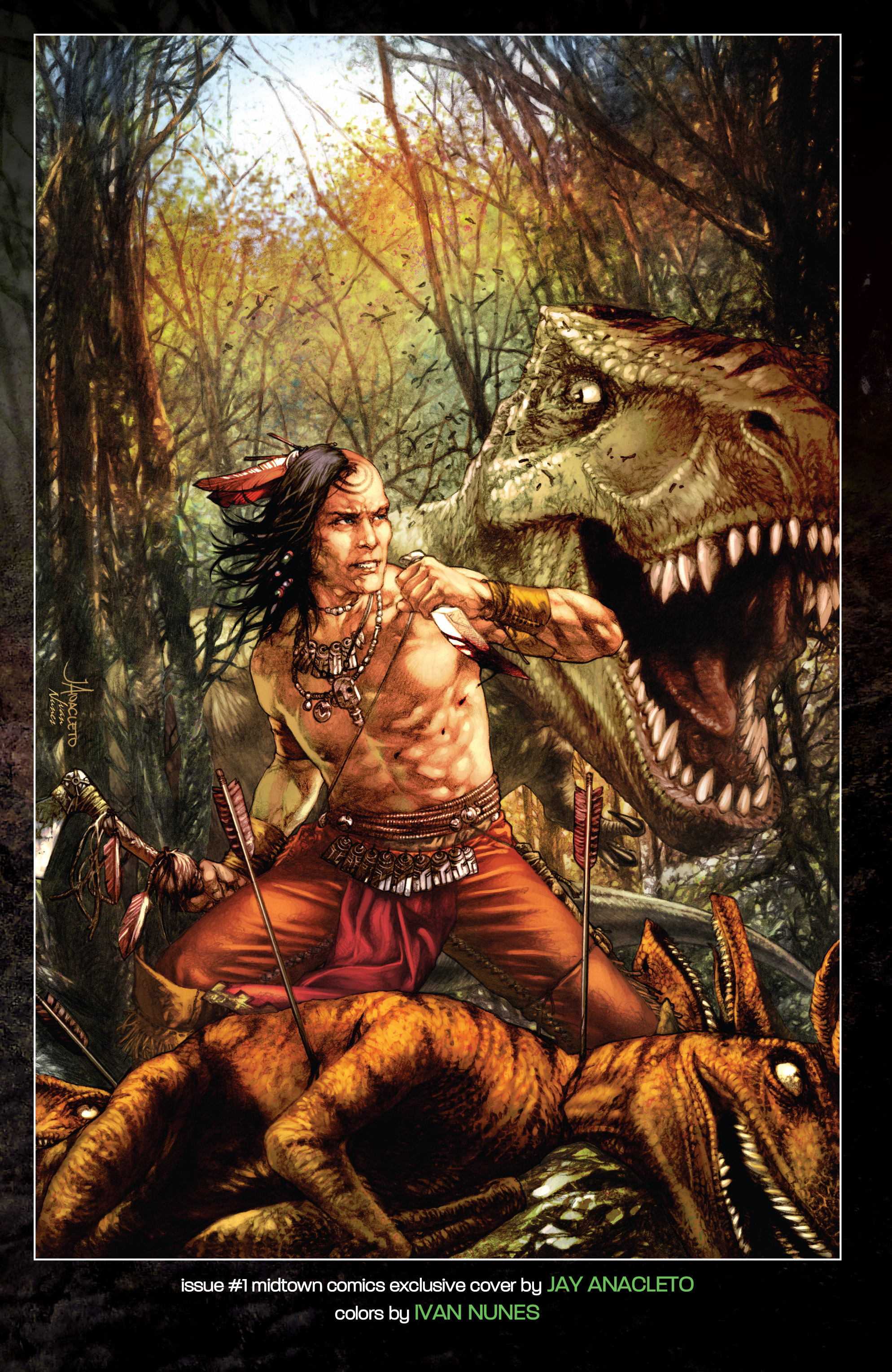 Read online Turok: Dinosaur Hunter (2014) comic -  Issue # _TPB 1 - 128