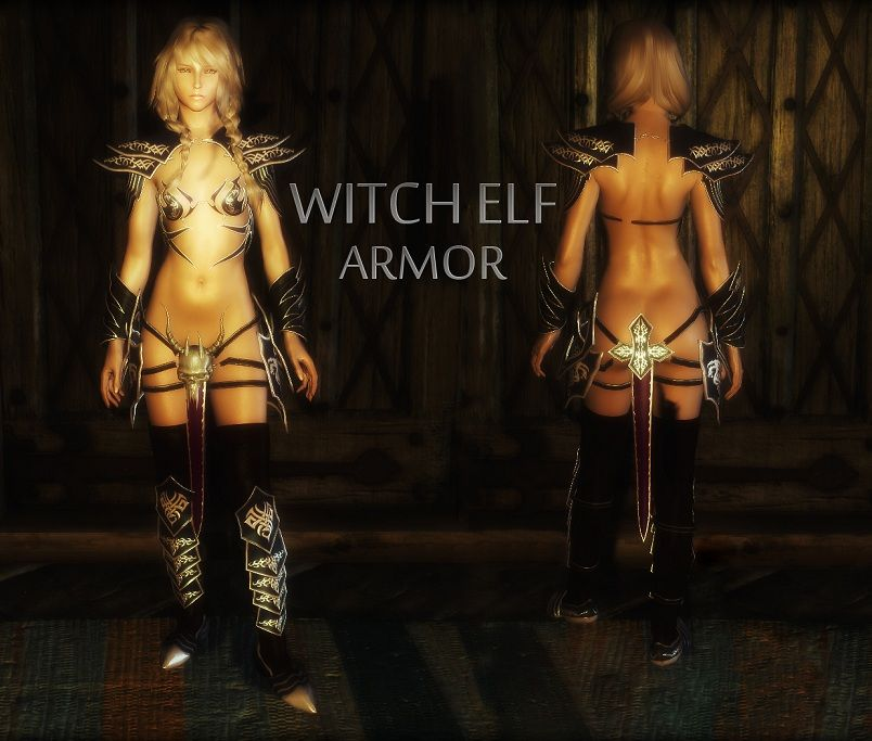 Unp Revealing Armor