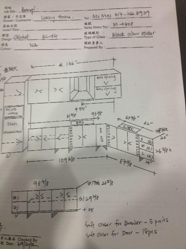 Perkara Seterusnya Ialah Menentukan Asas Binaan Meja Dapur Table Top Sama Ada Untuk Membuat Konrit Atau Menggunakan Lapisan Plywood Bagi