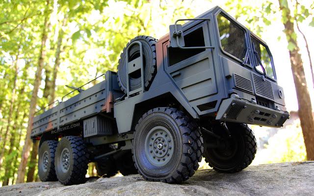 RC4WD Beast 2 6x6 mann kat