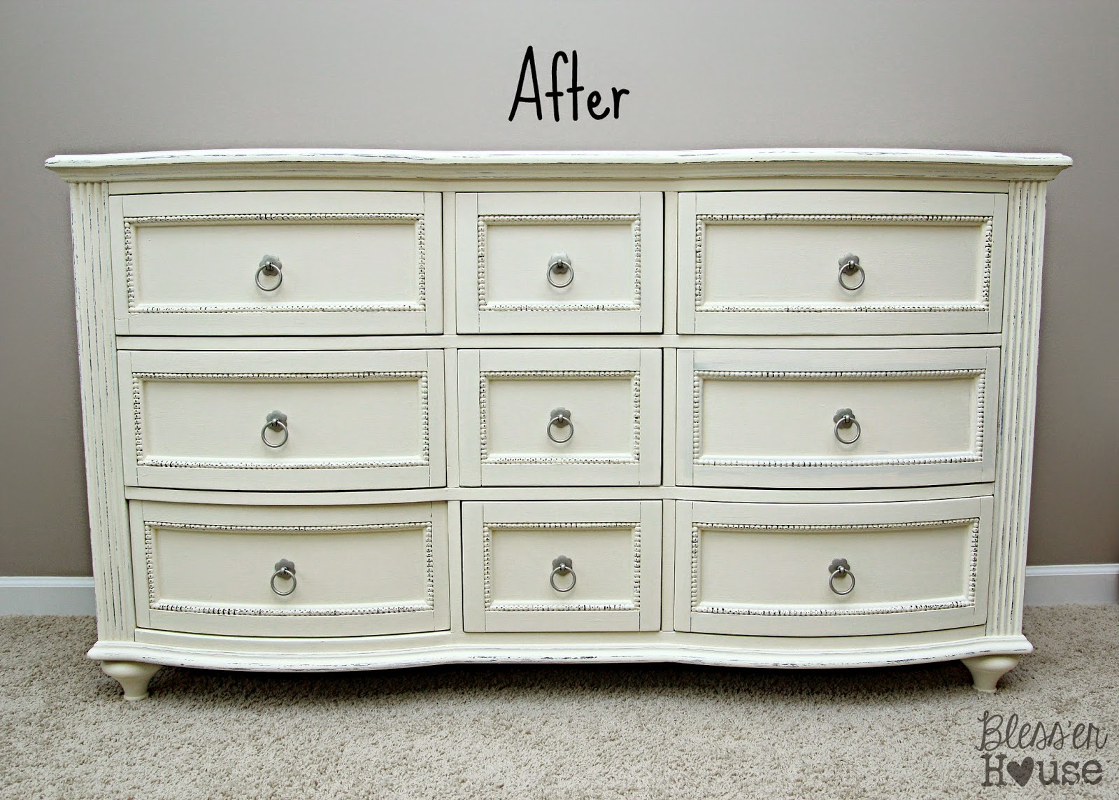 Little Girl Room Progress ASCP Dresser Makeover Bless  : dresser redo from www.blesserhouse.com size 1600 x 1143 jpeg 396kB