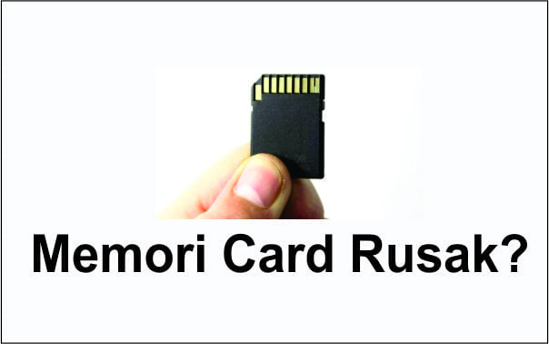 memori card tidak terbaca
