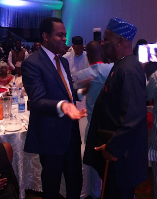donald duke at Ita Giwa 7oth birthday pictures