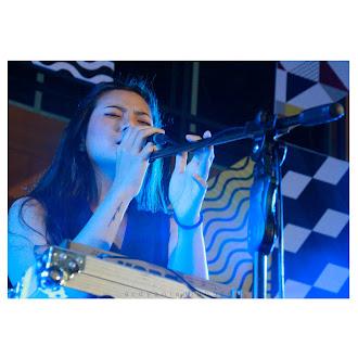 "Danilla Riyadi on stage. ""at Iconic Clothing Festival 2018 (Makassar)"""