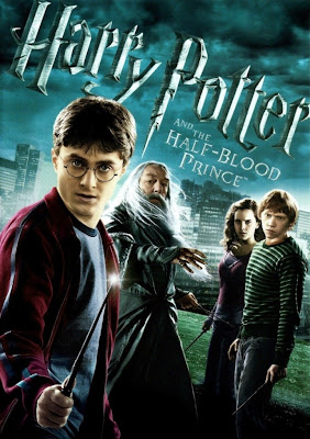 Poster Of Free Download Harry Potter and the Half-Blood Prince 2009 300MB Full Movie Hindi Dubbed 720P Bluray HD HEVC Small Size Pc Movie Only At worldfree4u.com