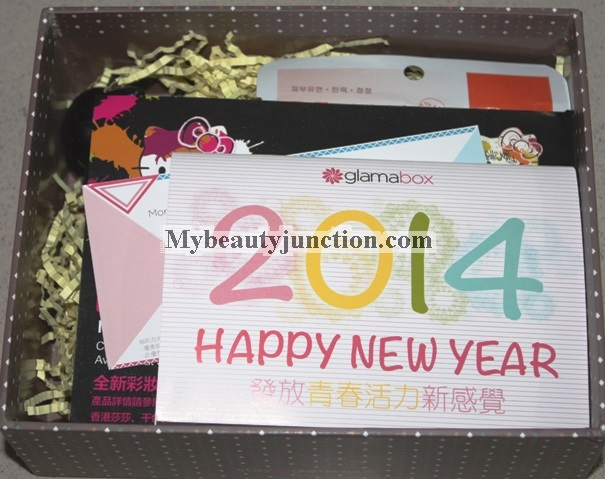 Glamabox January 2014 unboxing, review, photos: International beauty box