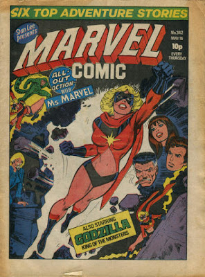 Marvel Comic #342, Ms Marvel