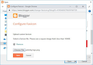 Gambar Cara Mengubah atau mengganti Icon Blog Pada Menu Tab 6