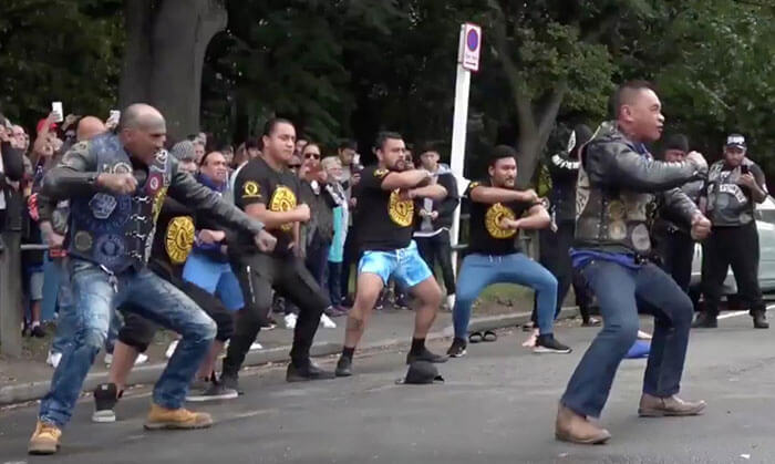 A Biker Club Paid Respects To The Christchurch Victims By Performing A Heart-Melting Haka Dance
