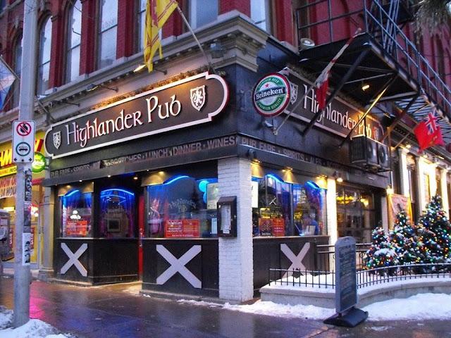 Bar Highlander em Ottawa
