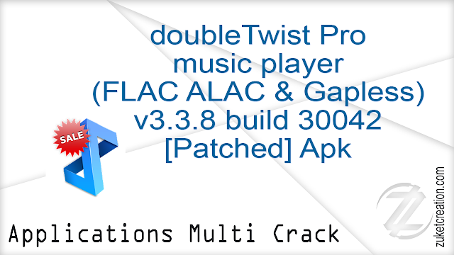 doubleTwist Pro music player (FLAC ALAC & Gapless) v3.3.8 build 30042 [Patched] Apk   |   23.9 MB