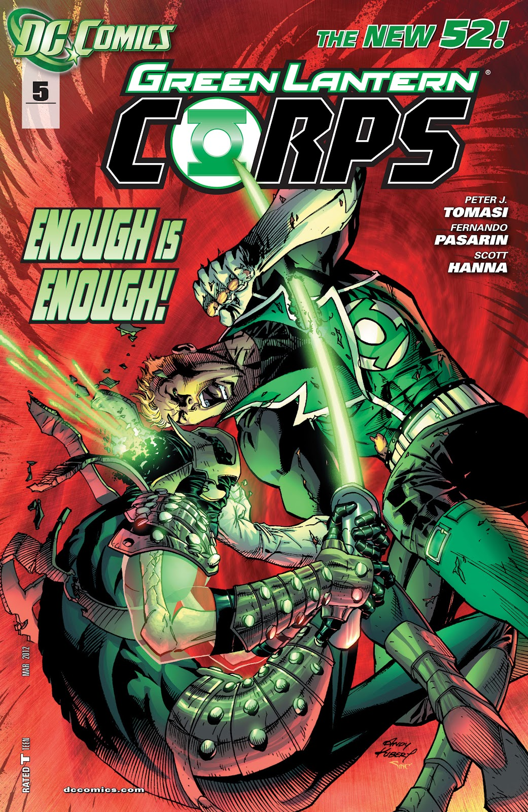 Green Lantern Corps (2011) issue 05 - Page 1