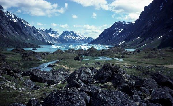Paysages du Groenland