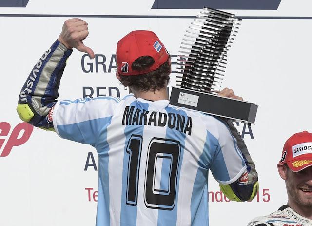 'Valentino Rossi Bagai Maradona di Dunia Roda Dua'