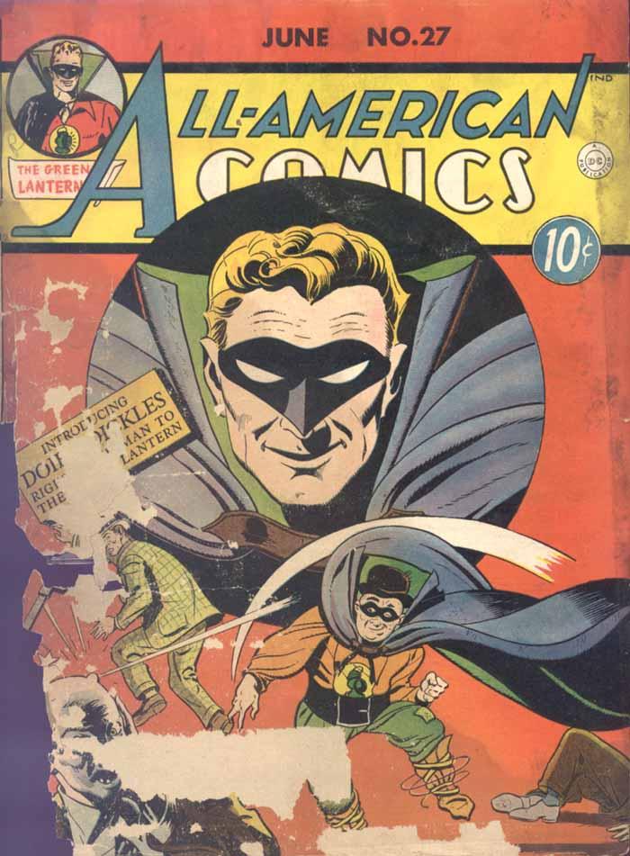 Read online All-American Comics (1939) comic -  Issue #27 - 1