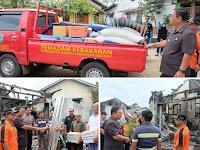 Bupati Sekadau Serahkan Bantuan Korban Kebakaran Mahap