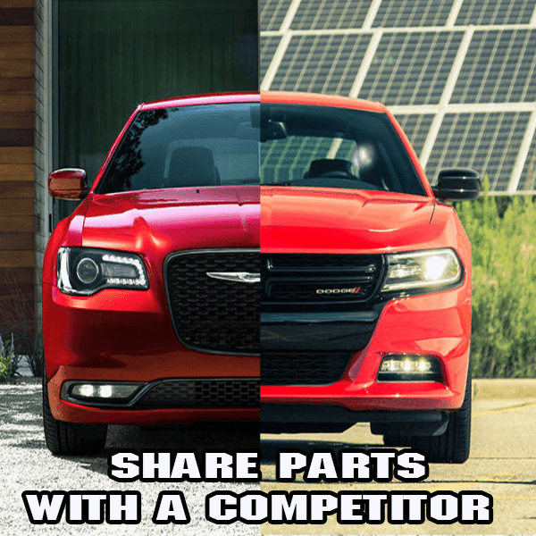Your car may share parts with a competitor without knowing, here's how