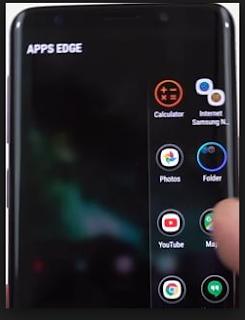 Cara menyingkirkan Edge Panel dari screenshot di perangkat Galaxy Anda