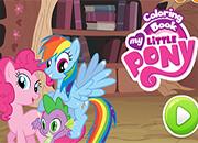 My Little Pony Libro de colorear juego